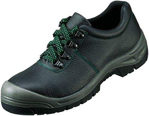 Sicherheits-Halbschuh Sicherheits-Schuh Arbeitsschuh WOLGAST ÜK EN ISO 20345 S3 SRA - Weite 10,5 - schwarz - Größe: 46