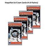 Astronaut Foods Napolitain Ice Cream, 4 Piece