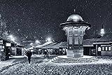 Kunstdruck/Poster: Bez Dan Winter in Sarajevo -