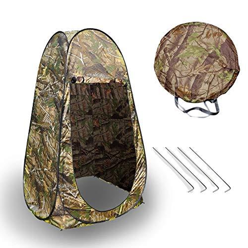 Portable Zelt, Portable Pop Up Zelt Camping Reise Toilette ändern Privatsphäre Zimmer mit Tasche