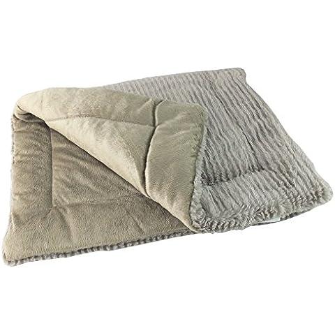 Tappetino per animali In oro & colore: argento, Argento, (73.5 x 48) cm - Luxury Pet Blanket