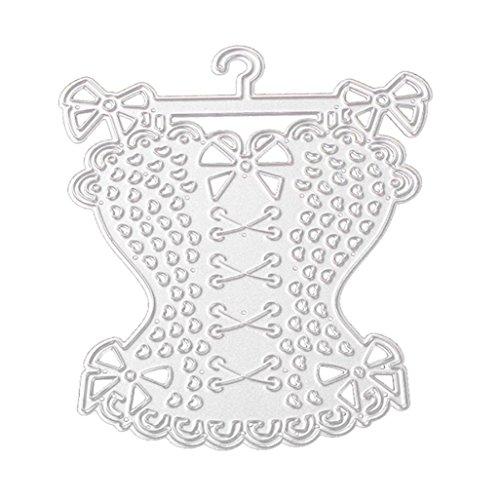 squarex MTAL Formen Schablone DIY Scrapbooking Prägung Album Papier Karte Lovely Craft Geschenk, Karbonstahl, F, AS SHOW