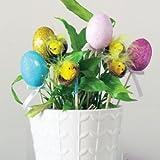 Amscan International–996310huevo de Pascua y polluelos en Stick