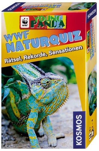 KOSMOS 710736 - WWF Naturquiz Rtsel, Rekorde,Sensationen