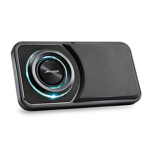 Altavoz Bluetooth Portatiles,Mini Altavoz Inalámbrico con Aux-in FM Radio LED y Soporte...
