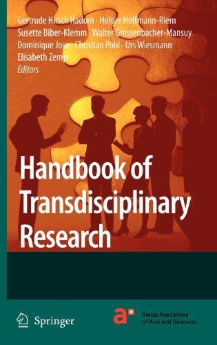 Handbook of Transdisciplinary Research (English Edition)