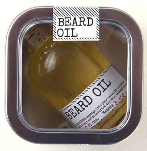Aceite de barba - Producción artesanal de pequeños lotes del Departa