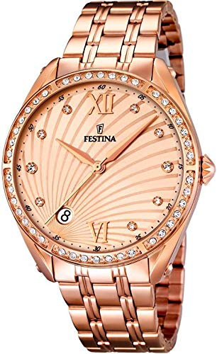 Festina Women's Watch Mademoiselle Analogue Quartz Stainless Steel F16896/2