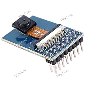 OV7670 30fps VGA Camera Module Compat for Arduino (Works with Official Arduino Boards) - Blue + Black EDC-274915