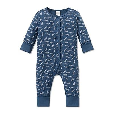 57fb6c0069 Schiesser Jungen Zweiteiliger Schlafanzug Grand Prix Baby Anzug mit Vario