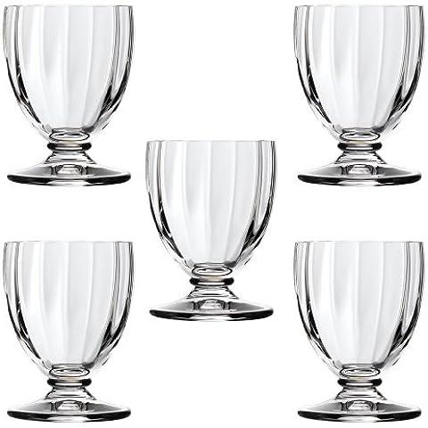 Da Vinci cristallo LILIUM Lilium bicchierino di liquore 5 pezzi set (box regalo) 455 730 455 730 (Japan import / Il pacchetto e il manuale sono scritte in giapponese)