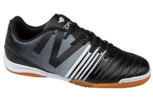 GIBRA® Homme Chaussures de Sport, pour la salle de gym, Noir/Blanc, Taille 41–46 Noir - Noir/blanc