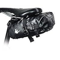 Alofrjas Bicicleta, Selighting Bolsa Bicicleta Alforja Bici Impermeable Multifuncional Bolsas Sillín Bolso para Asiento Tresero de Bicicleta Carretera