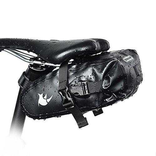 Selighting Impermeabile Borse Bicicletta Bosello MTB Borsa da Sella Bici 2.5L.