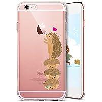 iPhone SE Hülle,iPhone 5S Hülle,iPhone SE/5S Silikon Hülle Tasche Handyhülle,SainCat Kreative Karikatur Muster... preisvergleich bei billige-tabletten.eu
