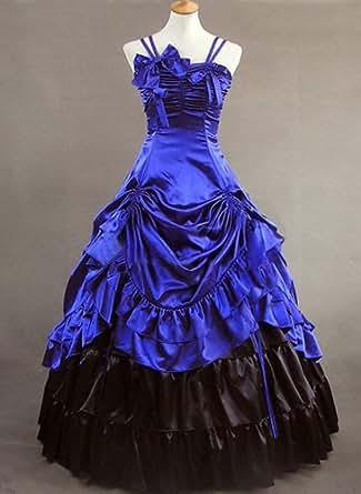 Robe Lolita Princesse Mariage Gothique Cosplay Costume Déguisement #428 - *Sur Mesure*