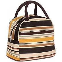 Bolso ligero para picnic a prueba de agua, bolso para guardar bocadillos y almuerzos., poliéster, x, mediano