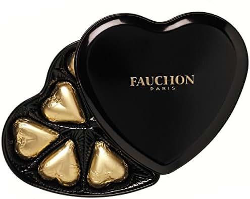 Fauchon - Boîte Cœur Noire chocolat noir