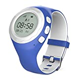 WATCHU – The GPS Tracking Smart Watch for Kids – UK Company – UK App – UK Technical Support (Bubblegum Blue)
