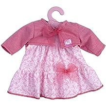 Nenuco - Vestido para muñeco de 35 cm, color rosa (Famosa 700012823C)
