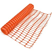 Oypla Heavy Duty Orange Safety Barrier Mesh Fencing 1mtr x 15mtr