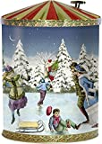 Adventskalender: Nostalgische Weihnachtsdose mit Spieluhr: mit 24 Backrezepten