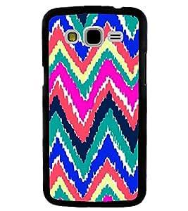 Printvisa Multicoloured Zig Zag Pattern Back Case Cover for Samsung Galaxy J5::Samsung Galaxy J5 J500F
