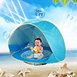 Best Summer Infant Beach Tents For Babies - HBONE Outdoor Automatic Pop up Baby Beach Tent Review