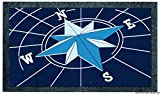 Format rutchfeste Fußmatte 40 x 68 cm Wind