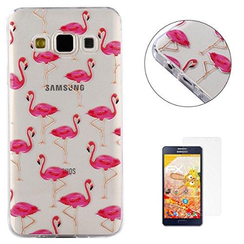 KaseHom Compatible For Funda Samsung Galaxy A5 TPU Silicona Carcasa [Shock-Absorción y Anti-Arañazos] Transparente Suave Flexible Caucho Caso Dura Parachoques Alta Resistencia Proteccion Estuche