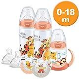 NUK Winnie the Pooh Flasche und Cup Set (0-18M)