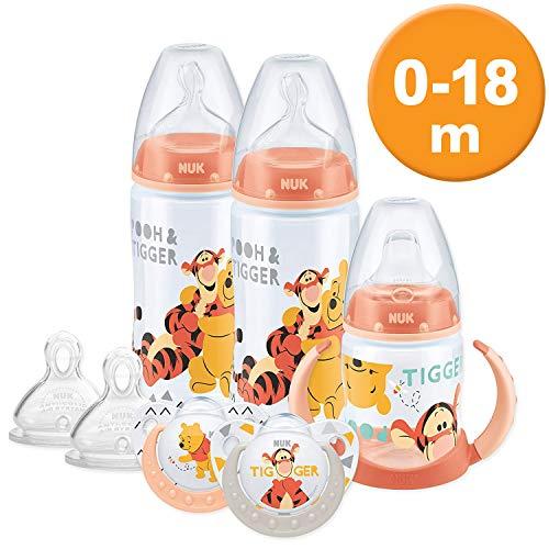 NUK Winnie The Pooh botella taza conjunto 0-18M