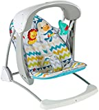 #5: Fisher Price Colourful Carnival Take Along Swing and Seat, Multi Color