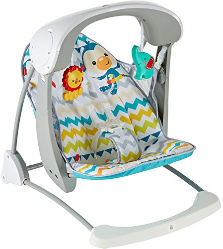 fisher price colourful carnival take along swing and seat, multi color Fisher Price Colourful Carnival Take Along Swing and Seat, Multi Color 51khcDZK8OL