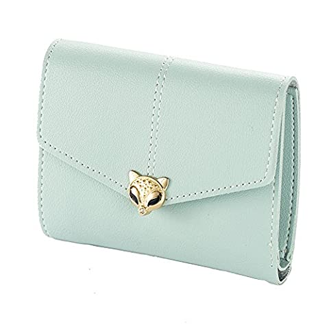 Ulisc Wallet Female New Lady Short Women Wallets Mini Money Purses Fold PU Leather Bags Female Coin Purse Card Holder