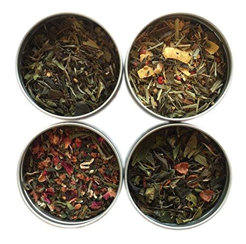 Heavenly Tea Leaves Tea Sampler, White Tea, 4 Count