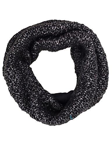maximo Mädchen Tube vollgefüttert, Lurex, Stern Halstuch, schwarz 46), One size (Herstellergröße: 1sz.) Lurex Tube