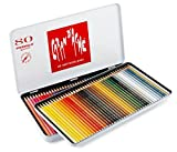 Caran d'Ache Prismalo Aquarelle boîte métal de 80 stylos de couleurs