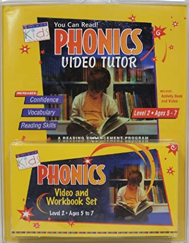 Phonics Video Tutor: Volume 2: Reading Words with Phonics, Long 7 Short Vowels, Word Families, Dipthoings and Digraphs, Blends and Silent