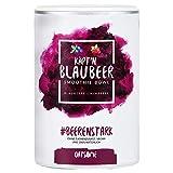 Käpt'n Blaubeer - Smoothie Bowl - Nährstoff Frühstück mit 100% Natürlichen Zutaten & ohne Zusatzstoffe und raffinierten Zucker - Lange satt mit nur 200 kcal - 400g
