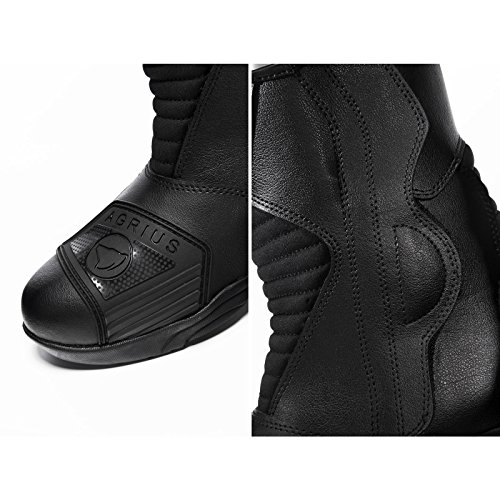 Agrius Delta Motorcycle Boots 43 Black (UK 9) - 7