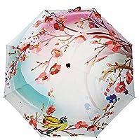 LifeWheel Ladies Compact Folding Windproof Anti-UV Rain Sun Umbrella