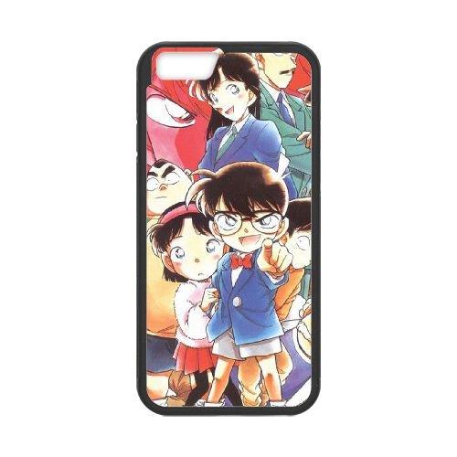 Detective Conan coque iPhone 6 Plus 5.5 Inch Housse téléphone Noir de couverture de cas coque EBDXJKNBO10444