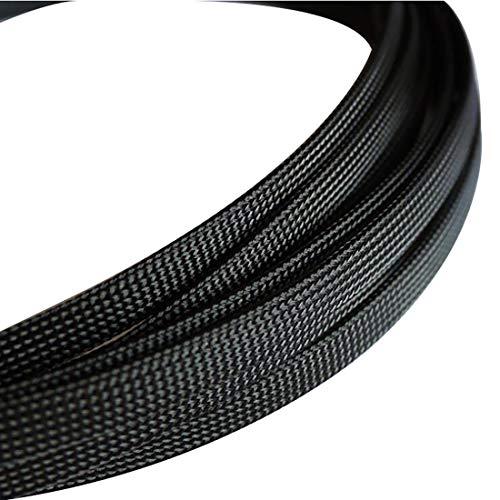 Godagoda Universeller Nylon Geflechtschlauch Auto Audio Gewebeschlauch Geflochten Kabelschutz 3mm/6mm/10mm/12mm x 8m/30m