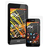 atFoliX Pellicola Proteggi per ASUS PadFone Mini 4.3 Tablet&Smartphone Protezione Pellicola dello Schermo, Rivestimento antiriflesso HD FX Protettore Schermo (Set di 3)