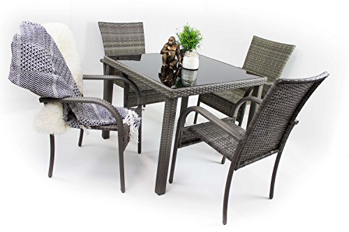 Kasanova sgabelli neri: sedia a dondolo da esterno kasanova sgabelli