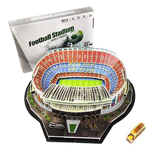 TriPro 3D Puzzle Camp NOU Fußballstadion DIY Modell Set (Barcelona)