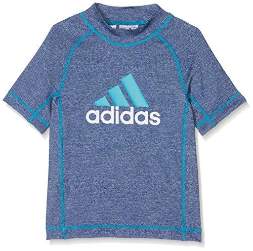 adidas Kinder Sonnenschutz T-Shirt, Mystery Blue, 140 Preisvergleich