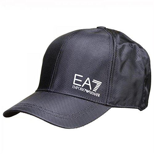 Emporio Armani EA7 cappello berretto regolabile uomo originale train core nero EU UNI 275611 6A690 00020