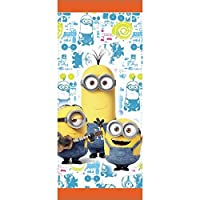 Wilton 1912-4600 16 Count Despicable Me Minions Treat Bags, Yellow